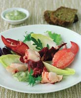 Mary Anns Bar & Restaurant - Castletownshend County Cork ireland - Lobster Salad