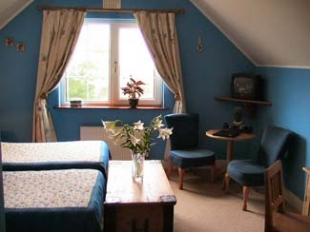 Drumcreehy House - Guesthouse in Ballyvaughan County Clare Ireland - Bedroom