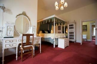 Belleek Castle - Ballina County Mayo Ireland - White Bedroom