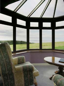 Ballinalacken Castle Country House -  View from Lounge