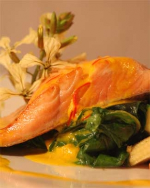 Carrygerry House - Salmon Dish