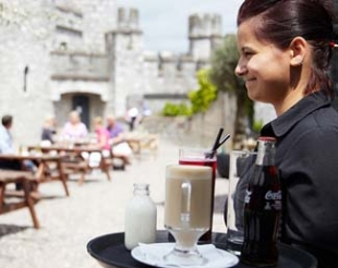 The Castle Cafe - Blackrock Castle Cork Ireland - service