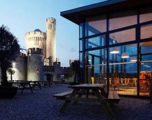 The Castle Cafe - Blackrock Castle Cork Ireland - dusk