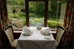 Hanoras Cottage - County Waterford - Restaurant View