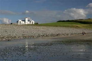 Moy House - from the beach