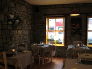 The Old Barracks Pantry, Bakery & Restaurant - Athenry County Galway Ireland - restaurant interior