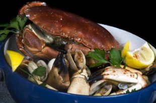 Oscars Seafood Bistro - Galway City Ireland - crab