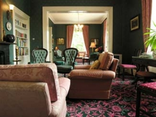 Ross Lake House Hotel - Oughterard County Galway Ireland - lounge