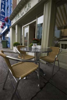 Sage Cafe - Limerick Ireland - exterior table