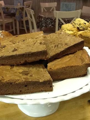 Starfish Cafe & Bistro - Dunfanaghy County Donegal Ireland - Brownies