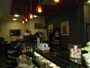 The Coffee Dock - Bundoran County Donegal Ireland - counter
