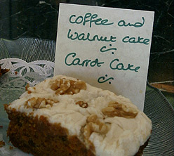 Walton Court Cafe - Oysterhaven County Cork Ireland - Carrot Cake