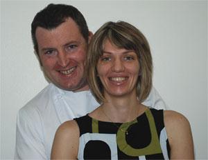 Tony & Bobbie Schwarz - White Sage Restaurant - Adare County Limerick Ireland
