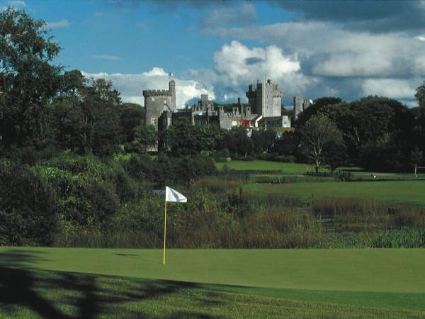 View across the 10th green
