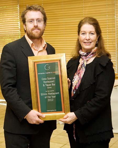 Ethnic Restaurant of the Year 2012 - Cava Spanish Restaurant & Tapas Bar, Galway City ireland