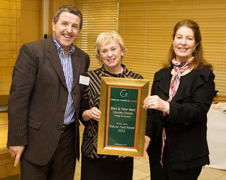 Natural Food Award 2012 - Country Choice, Nenagh, Co Tipperary, Ireland
