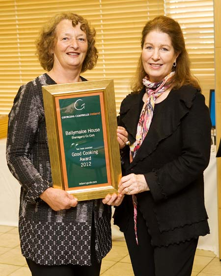 Good Cooking Award 2012 - Ballymaloe House, Shanagarry, Co Cork, Ireland