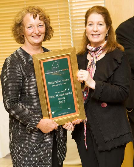 Good House Keeping Award 2012 - Ballymaloe House - Shanagarry, Co Cork, Ireland