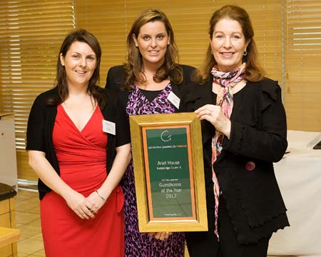 Guesthouse of the Year 2012 - Ariel House - Ballsbridge Dublin 4 Ireland