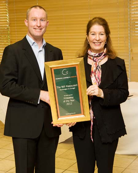 Hideaway of the Year 2012 - The Mill Restaurant - Dunfanaghy County Donegal Ireland