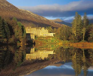 Ballynahinch Castle Hotel - Recess Connemara County Galway ireland
