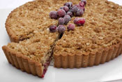 Deep Filled Apple & Cranberry Crumble Pie