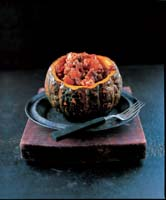 Beef Stew with Squash, Sweetcorn & Chilli from COOKING WITH PUMPKINS AND SQUASH by Brian Glover with photography by Peter Cassidy (�9.99 in UK)