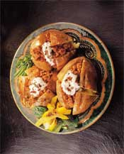Baked Potatoes & Pork