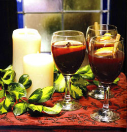 Mulled Wine from A Country Kitchen by Anne Neary