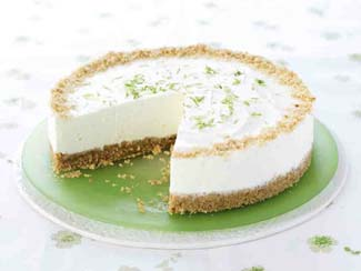 Elderflower & Lime Cheesecake