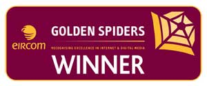 Eircom Golden Spider Awards Winner 2008