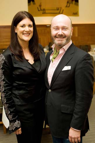 Irish Food Writers Guild Awards 2011 - Orla Broderick & Ross Golden Bannon