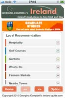 Georgina Campbell's Ireland Guide iPhone App