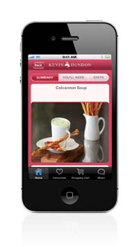Kevin Dundon App - Recipe