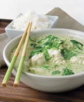 Ling in Thai Green Curry