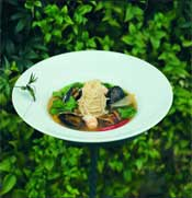 Longueville Mussels and Pasta