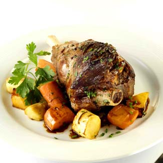 Lamb Shanks With Roast Root Vegetables - Lamb Shanks With Roast Root ...