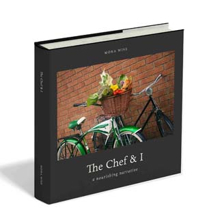 The Chef & I, a nourishing narrative (WiseWords Ltd, hardback, 178pp, full colour, ?25; eBook ?4.99)
