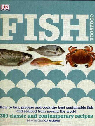 Cookbook reviews fish cookbook dorling kindersley 20 for Book with fish bowl on cover