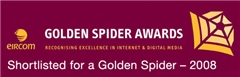 Golden Spider Awards Shortlisted for Best Travel, Tourism &