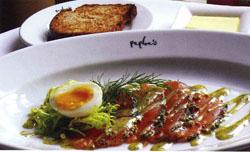3a7977e4b Gravadlax with Dill Mustard Sauce from Zest Cookbook (Peploe s Restaurant)