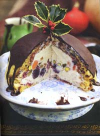 CHRISTMAS ICE PUDDING by Jamie Oliver (from Jamies Great Britain)
