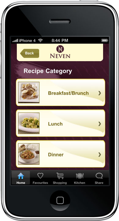 iCook with Neven - Neven Maguire Cooking App - Iphone ipad ipod touch