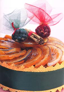 Fresh Orange Fruit Cake