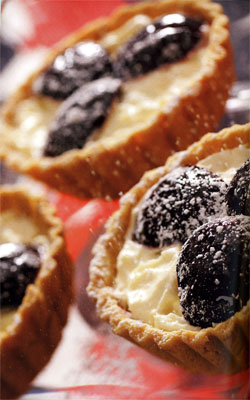 Recipe for Plum and Mascarpone Tart - Plum and Mascarpone Tart Recipe ...