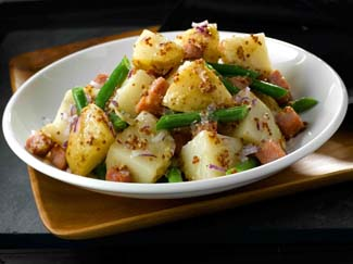 Potato & Bean Salad with Bacon