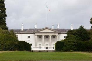 Aras an Uachtarain - Phoenix Park Dublin 8 Ireland