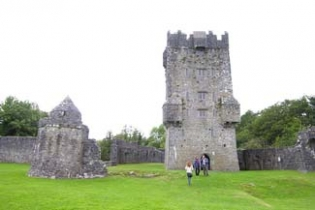 Aughnanure Castle - Oughterard County Galway Ireland