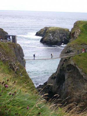 Carrick a Rede Rope Bridge - Ballintoy County Antrim Northern Ireland