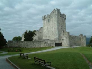 Ross Castle - Killarney County Kerry Ireland